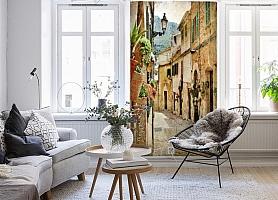 3D Фотообои  «Фреска итальянские улочки»  вид 4