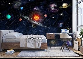3D Фотообои  «Планеты»  вид 5