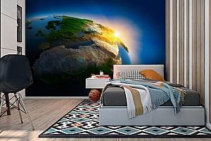 3D Фотообои  «Земля»  вид 2