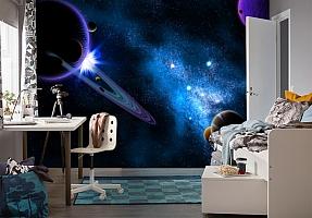 3D Фотообои  «Рассвет на Юпитере»  вид 4