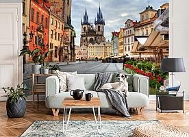 3D Фотообои «Прага»