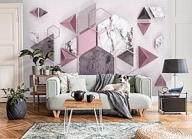 3D Фотообои «Волшебная геометрия»