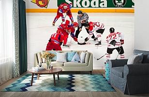 3D Фотообои  «Хоккей»  вид 6
