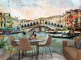 3D Фотообои  «Венеция маслом»  вид 2