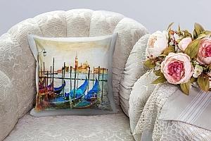 3D Подушка «Фреска Венеция»