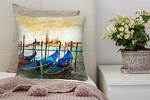 3D Подушка «Фреска Венеция» вид 3