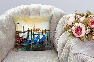 3D Подушка «Фреска Венеция» вид 4