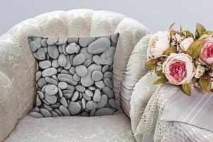 3D Подушка «Камни» вид 3