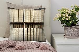 3D Подушка «Библиотека» вид 2