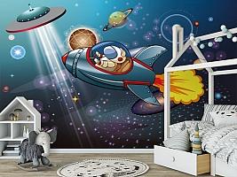 3D Фотообои «Космос в детскую» вид 6