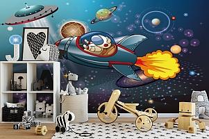 3D Фотообои «Космос в детскую» вид 2