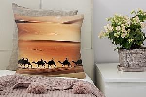 3D Подушка «Пустыня караван» вид 7