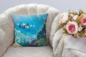 3D Подушка «Подводные жители»  вид 8