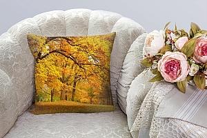 3D Подушка «Золотая осень»  вид 3