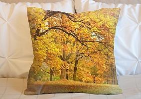 3D Подушка «Золотая осень»  вид 6