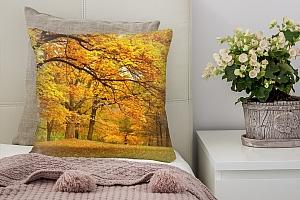 3D Подушка «Золотая осень»  вид 7