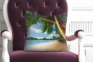 3D Подушка «Пляж» вид 4