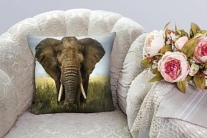 3D Подушка «Слон» вид 3