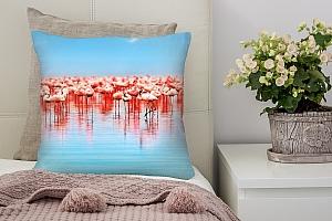 3D Подушка «Фламинго» вид 2