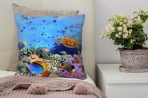 3D Подушка «Подводный мир» вид 2