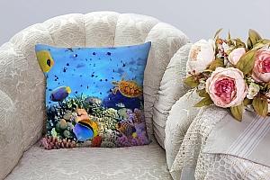 3D Подушка «Подводный мир» вид 3