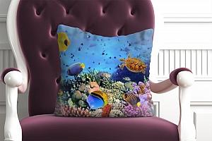 3D Подушка «Подводный мир» вид 4