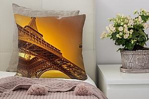 3D Подушка «Париж»