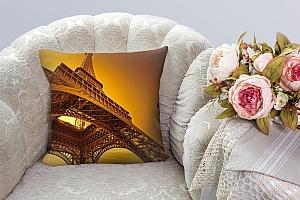 3D Подушка «Париж» вид 3