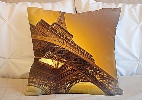 3D Подушка «Париж» вид 5