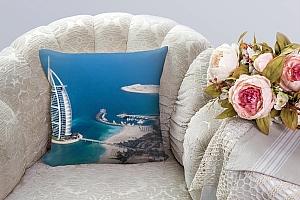 3D Подушка «Дубай» вид 3
