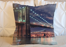 3D Подушка «Бруклинский мост»