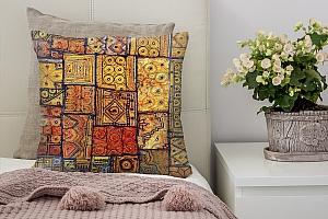 3D Подушка «Крупная мозаика»