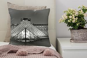 3D Подушка «Лувр»