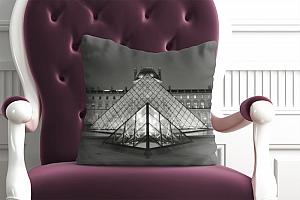 3D Подушка «Лувр» вид 4