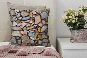 3D Подушка «Морские камни»