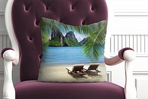 3D Подушка «Солнечный пляж Таиланд»  вид 5