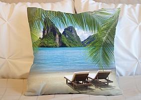 3D Подушка «Солнечный пляж Таиланд»  вид 6