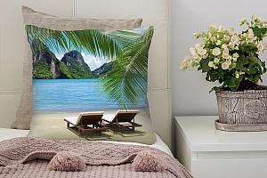 3D Подушка «Солнечный пляж Таиланд»  вид 7