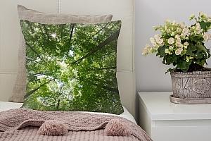 3D Подушка «Высокие деревья»  вид 2