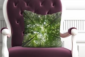 3D Подушка «Высокие деревья»  вид 5