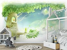 3D Фотообои «Сказочное дерево» вид 6