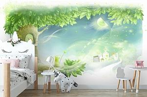3D Фотообои «Сказочное дерево» вид 4