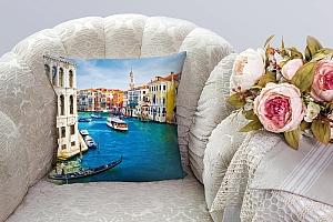 3D Подушка «Венеция: канал Ла-Джудекка»  вид 5