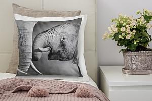 3D Подушка «Слоны»  вид 4