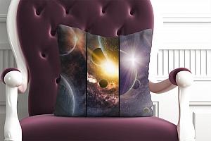3D Подушка «Галактика: Планеты»  вид 3