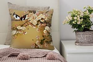 3D Подушка «Японский сад»