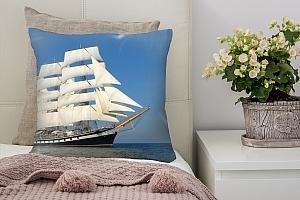 3D Подушка «Парусный корабль»