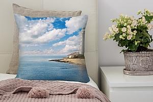 3D Подушка «С маяком»  вид 2