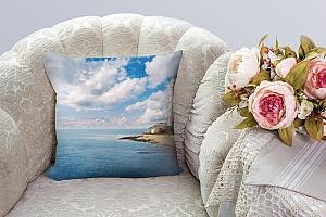 3D Подушка «С маяком»  вид 3