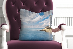 3D Подушка «С маяком»  вид 4